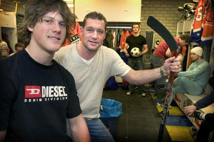 Dave Livingston (midden en Mike Dalhuizen (links).