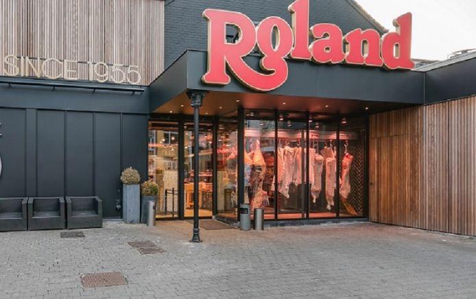 La boucherie Roland à Ixelles.