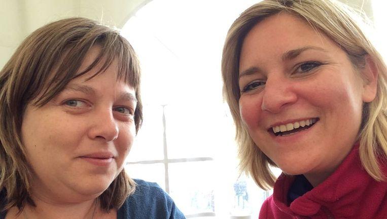 Evergem stuurt twee vrouwen: Vicky Van Hyfte en Anneleen De Ruyck.