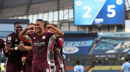 Sensatie in Manchester: Vardy lukt hattrick, Castagne goed voor assist en ook Tielemans scoort