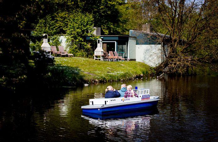 Bungalows in vakantiepark Center Parcs de Eemhof.