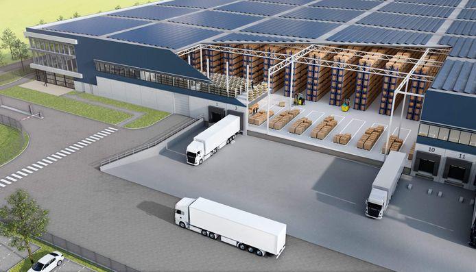 Het A16 Cargo Center is de nieuwe bewoner van het DistriPark.