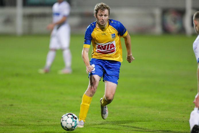 """Sven Delanoy lukte in Torhout het winnende doelpunt in de slotminuten waardoor Sportkring alsnog drie punten meegriste: """"Dit hadden we nodig als motivatie."""""""