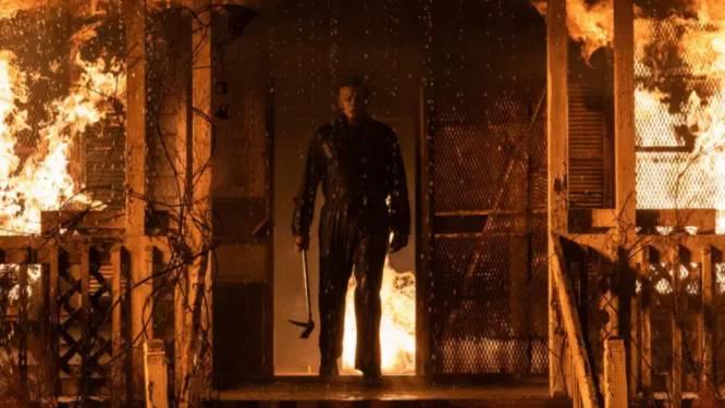 Iconische horrorschurk Michael Myers ontmaskerd in trailer van 'Halloween Kills'