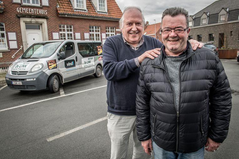 Bezieler Joris Olivier en chauffeur Willy Depoorter zoeken collega's om De Link uit te bouwen tot dorps-BOB.