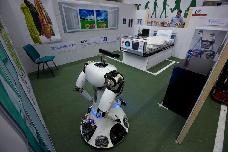 Robots: de verplegers van de toekomst? Beeld AP