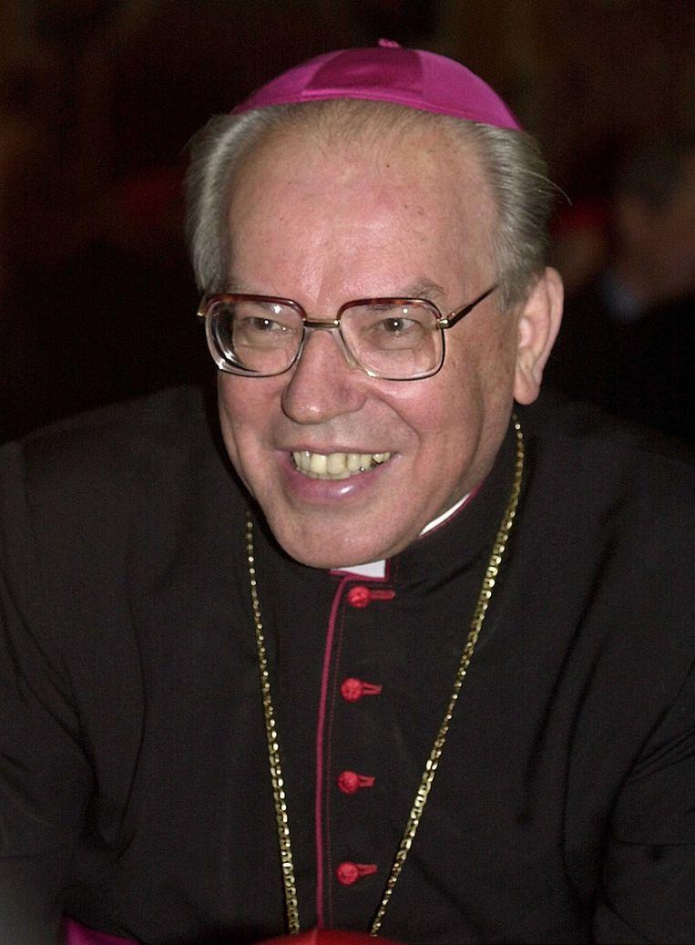 Kardinaal Giovanni Battista Re (2000) Beeld AP
