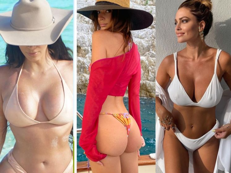 Stars en vacances : la vie en bikini