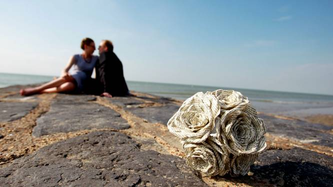 """Onze journaliste, zelf kind van de zee, keert terug naar haar strandbloemen, net erkend als immaterieel erfgoed: """"Alleen te koop voor de mooiste schelpjes van de waterlijn"""""""