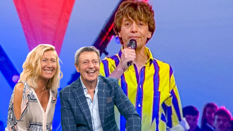 In 'Tien om te zien: De zomer van 199X' keert VTM samen met artiesten en presentatoren uit die tijd terug naar het iconische programma uit de nineties. Beeld VTM