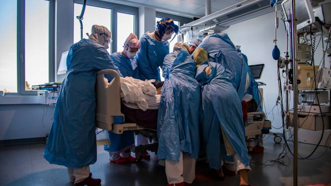 OVERZICHT. Daling van aantal patiënten op intensieve zorg, maar nog steeds meer dan 700