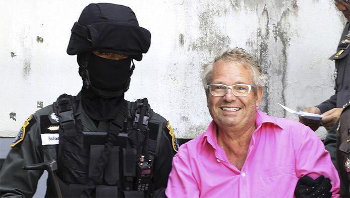 Marc De Schutter werd in juli 2012 in Thailand met veel machtsvertoon gearresteerd.