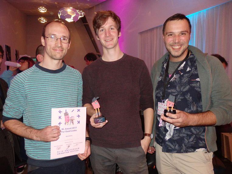 Sander Kamermans ('Thank you. That's all.') en Bastiaan Schravendeel winnen Best good look, en Michaël Veerman wint Craftmanship Beeld Schuim