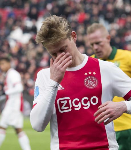 Ajax knoeit pijnlijk tegen ADO
