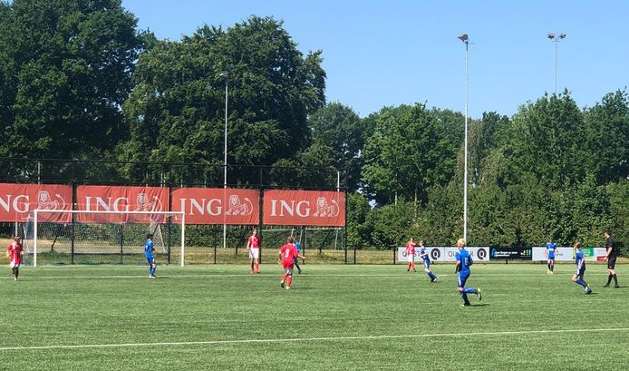 Bij MOC'17 in Bergen op Zoom wordt gedurende drie weekends het NK jeugdvoetbal gespeeld.