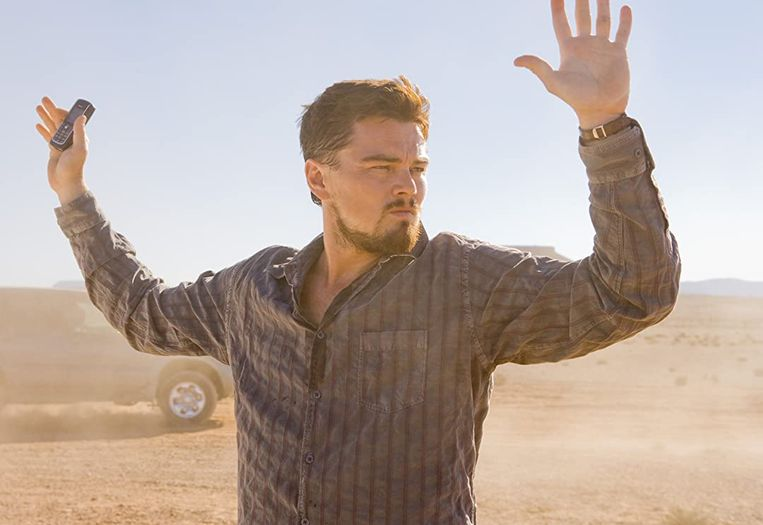 Leonardo DiCaprio in Body of Lies (Ridley Scott, 2008).  Beeld