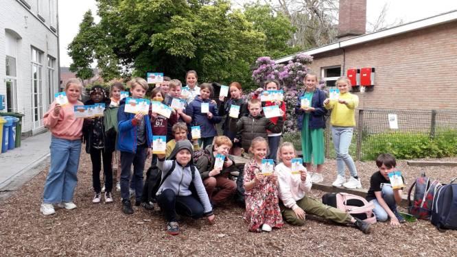 Vierderklassers VBS Herzele slagen in voetgangersexamen