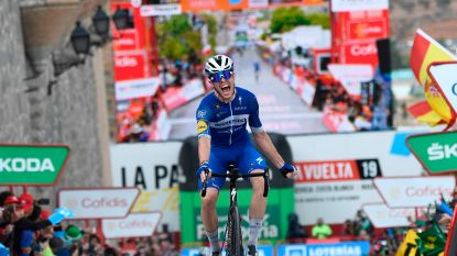 Cavagna schenkt Deceuninck-Quick.Step nieuwe zege in Vuelta na knappe solo