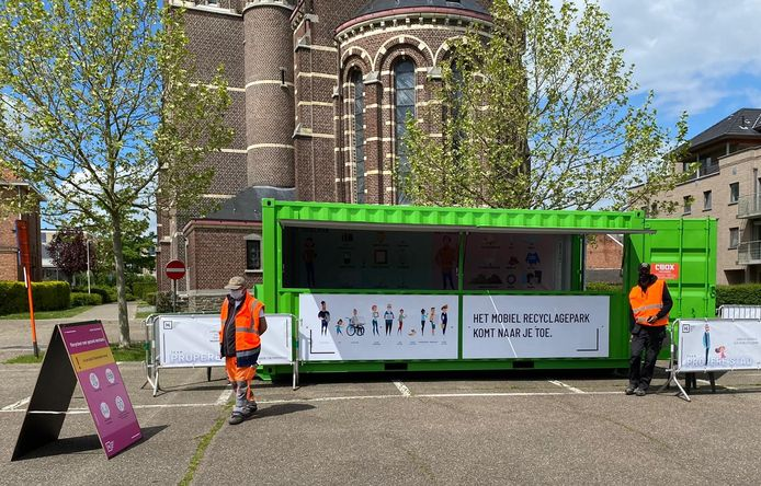 Vooruit in Sint-Truiden wilde het voorbeeld van Hasselt volgen voor een mobiel recyclagepark, maar de meerderheid heeft geen groen licht gegeven.
