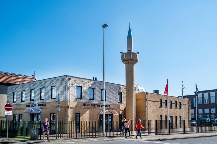 De moskee in Apeldoorn doet voor het eerst mee aan de Open Monumentendagen.