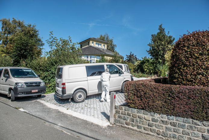 Lutgarde Maes (67) bouwde het huis aan de Elverenberg in de Vlaamse Ardennen een twintigtal jaar geleden. Haar man verhuisde anderhalf jaar geleden naar het rusthuis.