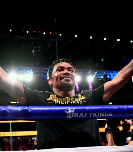 Boxe: candidat à la présidentielle aux Philippines, Manny Pacquiao met fin à sa carrière