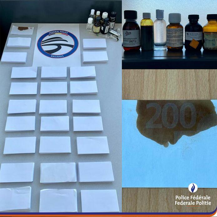 Oplichters beloven dat ze een chemische vloeistof verkopen, waarmee je bankbiljetten kan kopiëren.