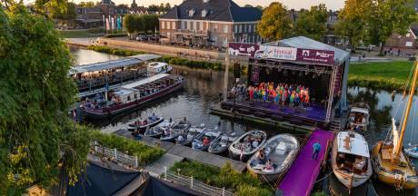 Veel muziek aan het water tijdens Festival de Vecht rond Ommen, Dalfsen en Zwolle