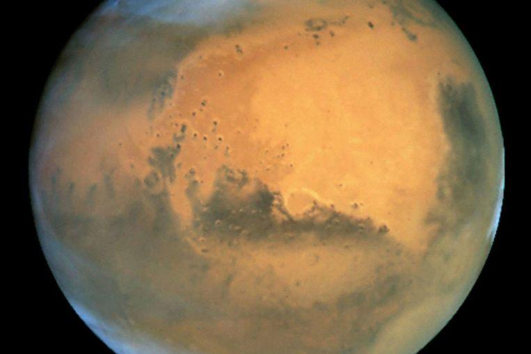 De planeet Mars (EPA) Beeld