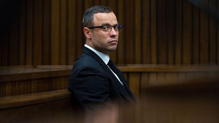 Oscar Pistorius vandaag in de rechtzaal Beeld ap