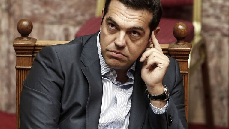 Alexis Tsipras. Beeld getty