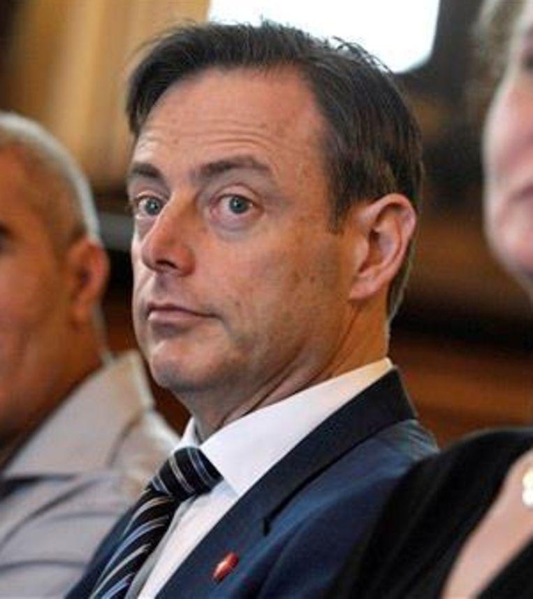De Antwerpse burgemeester Bart De Wever. Beeld PHOTO_NEWS