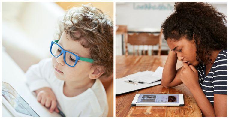 """Weet je niet goed of een bepaalde app wel geschikt is voor je kind? """"Ga op zoek naar reviews."""