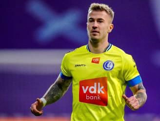 """Niklas Dorsch (AA Gent) nog maar eens de patron op  middenveld: """"Zeker niet mijn slechtste match"""""""