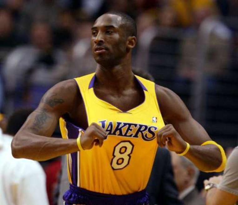 Kobe Bryant wordt met zijn ploeg LA Lakers getipt als dé titelfavoriet voor het nieuwe seizoen. Beeld UNKNOWN