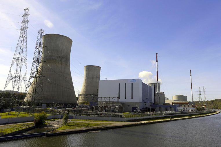 De kerncentrale in Tihange. Beeld Belga