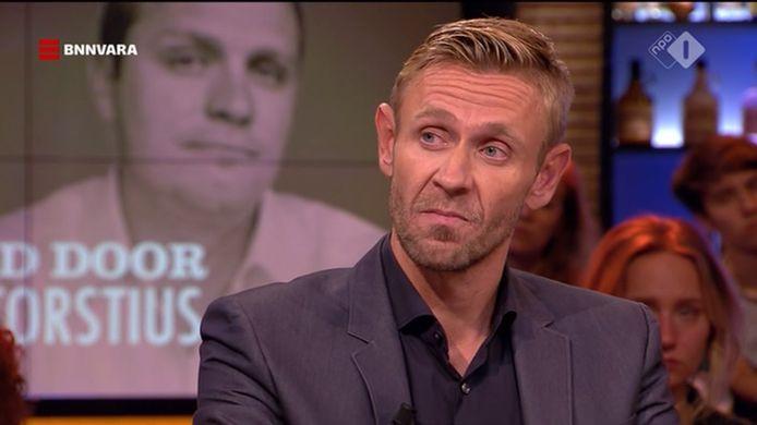 Gijs van Dam tijdens zijn interview bij Pauw in november vorig jaar.