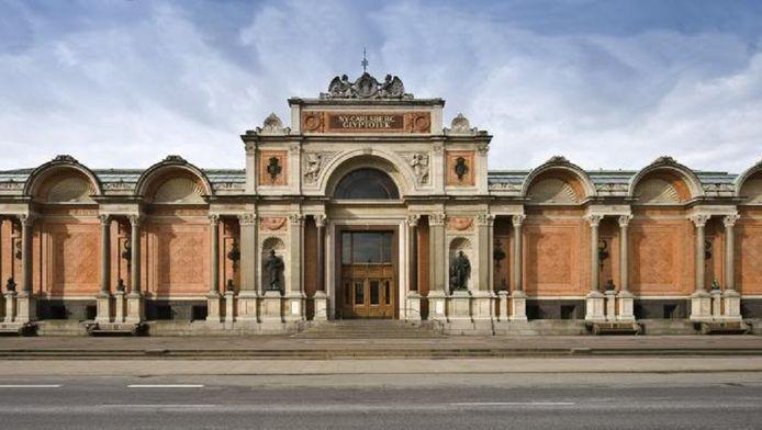 Het museum in Kopenhagen.