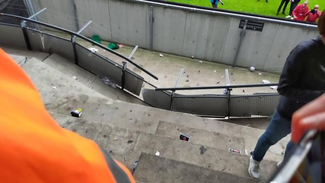 NEC opgelucht dat vallende Vitessefans niet gewond zijn geraakt: 'Het had erger kunnen aflopen