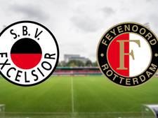 Feyenoord op het gevreesde kunstgras van Excelsior