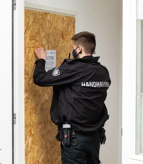 Appartement van beruchte crimineel en kunstrover op last van burgemeester gesloten