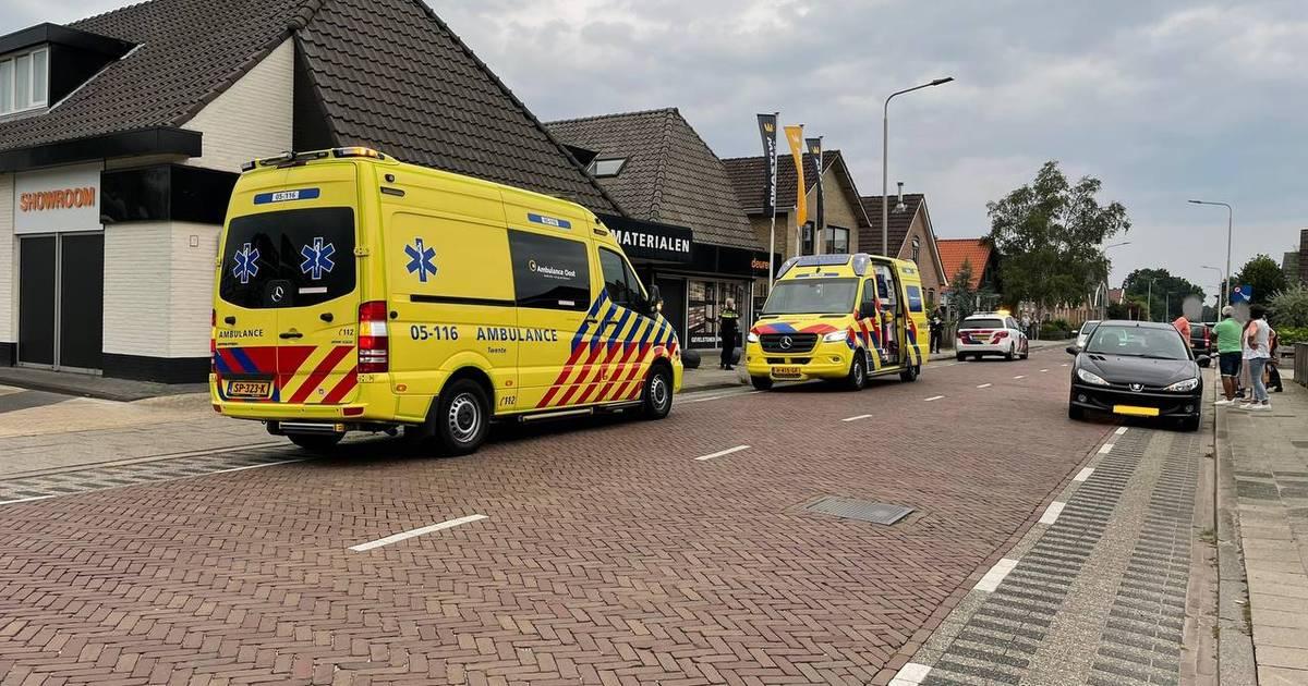 Kind gewond bij aanrijding in Vriezenveen.