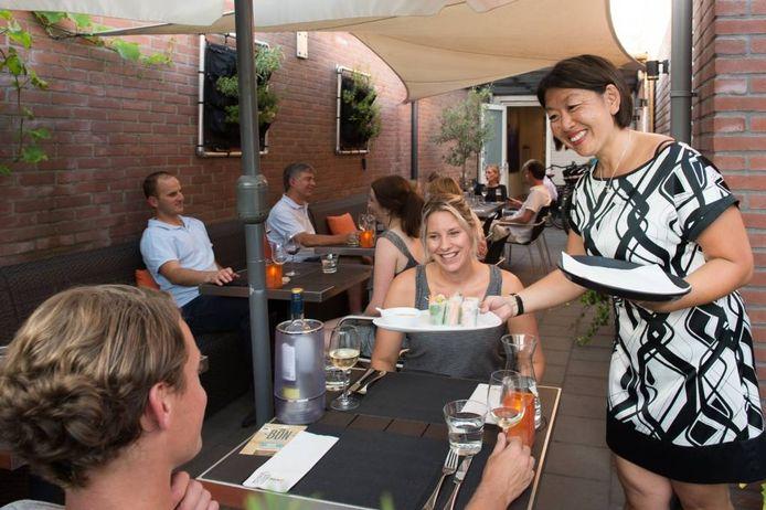 Gastvrouw Angèle Liu. Haar Block 62 won in 2013 de 'Breda Pluim Vakjury prijs'. René Schotanis/Pix4Profs