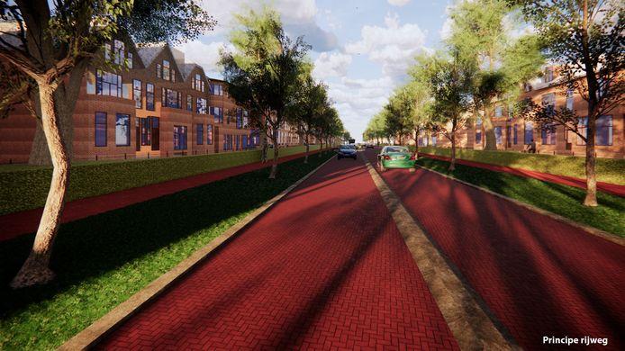 Zo komt de Deventerweg in Zutphen eruit te zien.