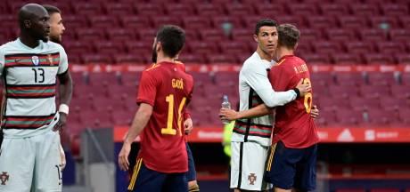 Burenruzie tussen Spanje en Portugal eindigt zonder goals, Italië ruim langs Tsjechië