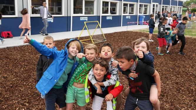 Vinderhoute verhuist na paasvakantie naar nieuwe school: tijdelijke containerschool wordt afgebroken
