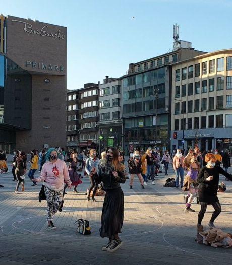 Les femmes ont fait de Charleroi un dancing en plein air