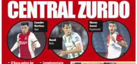 Spaanse sportkrant brengt Martínez (Ajax) en Senesi (Feyenoord) in verband met Barça