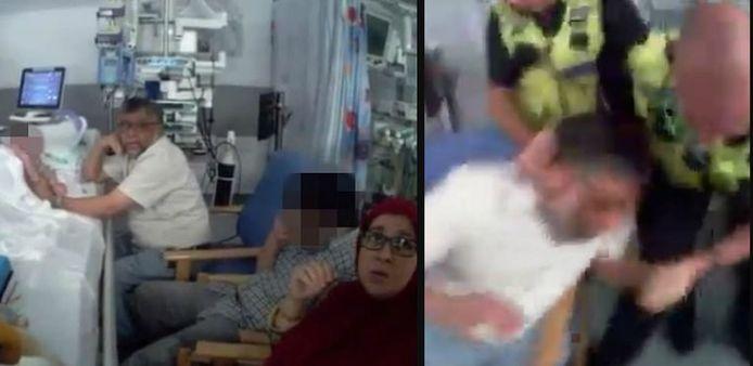 Les images, filmées par la bodycam d'un policier, ont récemment été dévoilées dans le cadre de l'affaire.