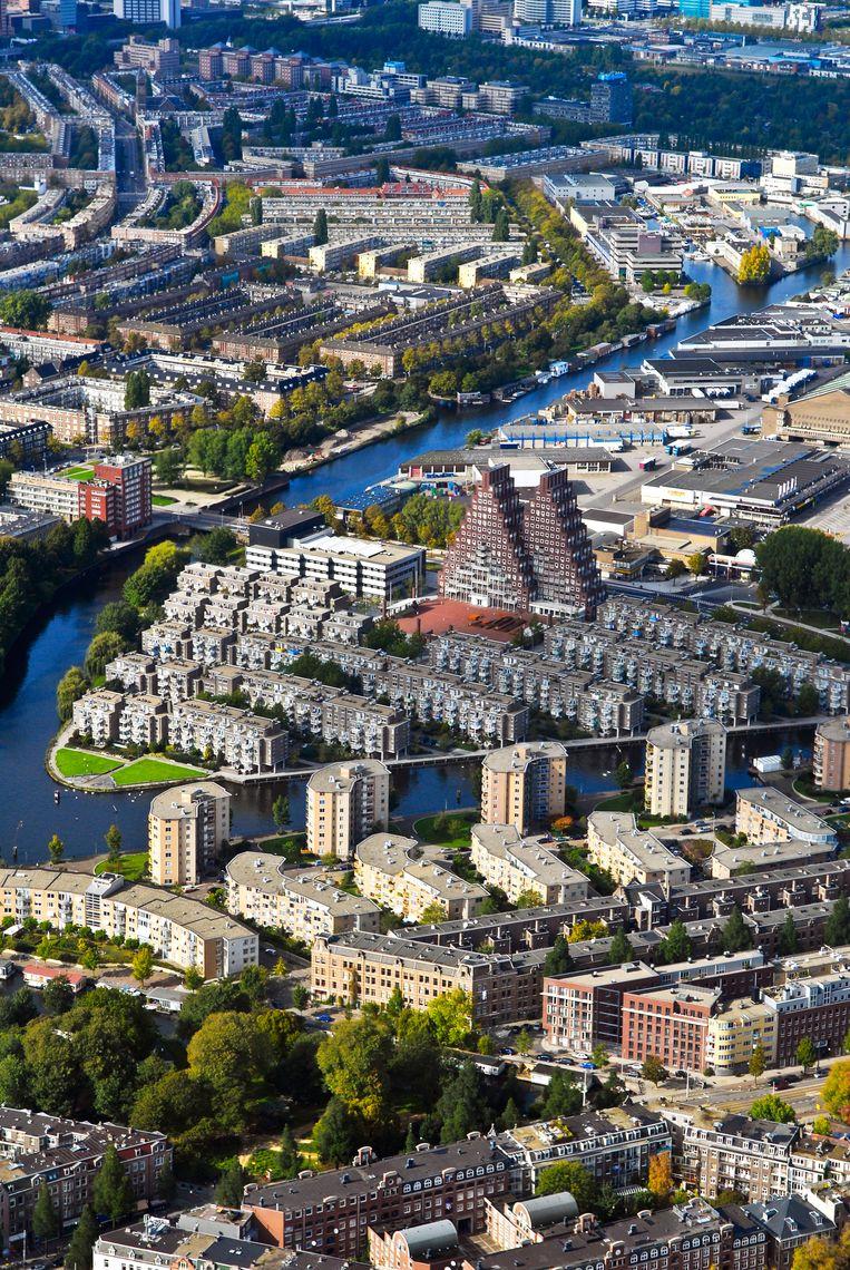 Amsterdamse huurders zijn gemiddeld 18,2 procent meer kwijt, tegenover het landelijk gemiddelde van 8 procent. Beeld Hollandse Hoogte /  ANP